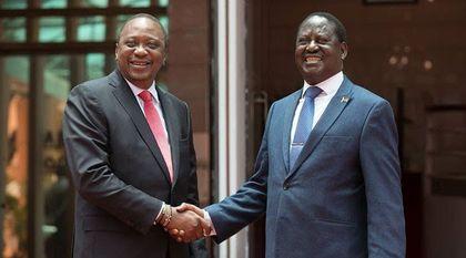 Uhuru gets embarrassing welcome from Kenyans in United Kingdom over Miguna deportation