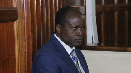 Image result for Governor Obado out of prison but locked up at home
