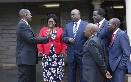 DP Ruto blocked from seeing Moi in Kabarak