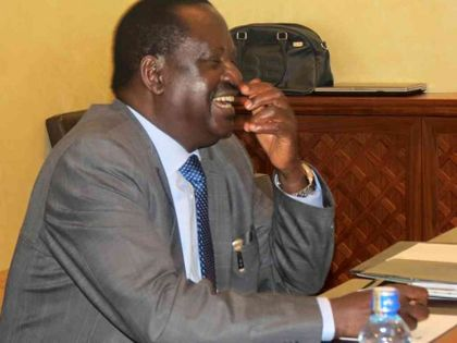Raila meets retired President Moi