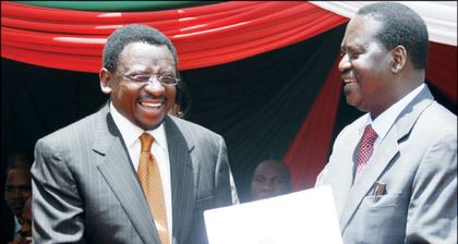Raila Odinga tells his supporters to prepare for a referendum