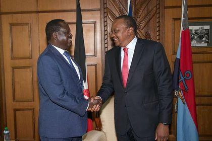 Kenyan rivals meet for talks following election strife