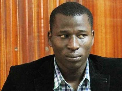 Blogger Cyprian Nyakundi Arrested
