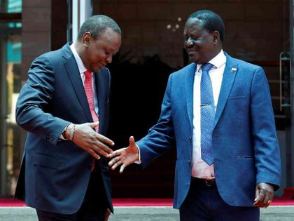 We weren't aware of Uhuru-Raila meet, NASA principals say