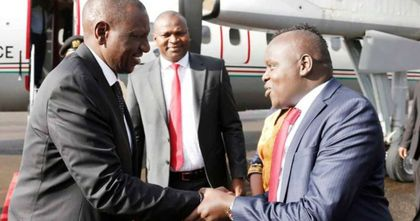 Flopped DP's visit to Moi was stage-managed, says Kamket