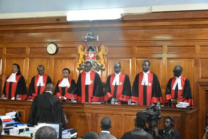 Maraga to Odinga: Uhuru did not intimidate Supreme Court judges