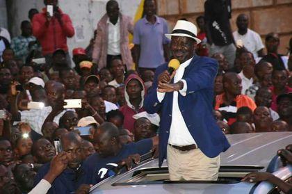 Raila Odinga tells his supporters to prepare for a referendum